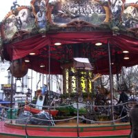 Brussels Christmas Market Carousel
