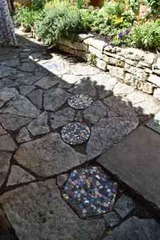 Look down. Tiled mosaics work their way in, spreading like weeds.n