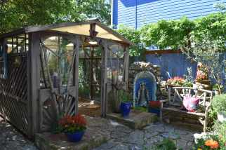 The greenhouse in the Mermaid's Lounge