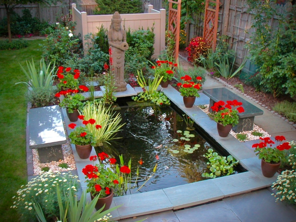 koi pond before and after DIY eight paths garden buffalo build a pond reflecting pond