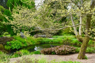 Different paths, like life, are presented and you choose your own around the garden.