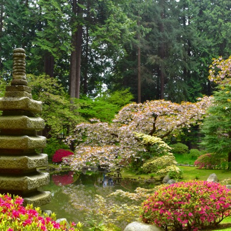 """Nitobe Lantern"" is unique to this garden."