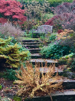 Branklyn Gardens in Perth, Scotland.
