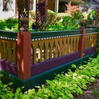 Projects with paint in gardens